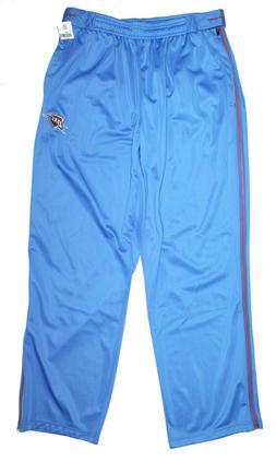 Zipway NBA Oklahoma City Thunder Warm Up Full Zip Up Pants M