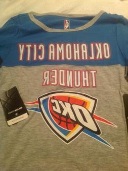 NBA Oklahoma City  Thunder Women's Raglan Baseball 3/4 Long