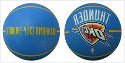 SPALDING NBA OKLAHOMA THUNDER ARENA RUBBER MINI BASKETBALL S