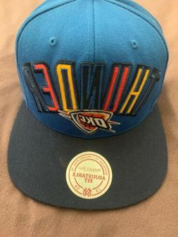 NBA Oklahoma Thunder Hat Adidas NBA Adjustable Baseball Cap
