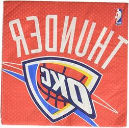 Amscan NBA Party Oklahoma City Thunder Luncheon Napkins , Mu
