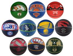 Spalding NBA Team Rubber Basketball Official Size - Warriors