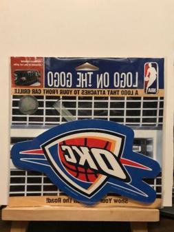 New ~ Oklahoma City Thunder Logo On The Gogo Sign Front Car