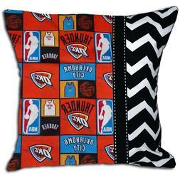 NEW Oklahoma City Thunder NBA Basketball Decorative Throw Pi