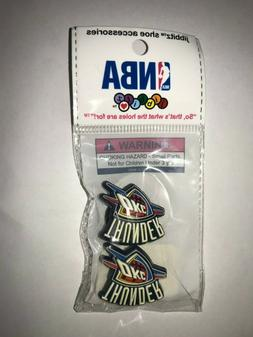 NIP Jibbitz Shoe Accessories NBA Basketball Oklahoma City Th