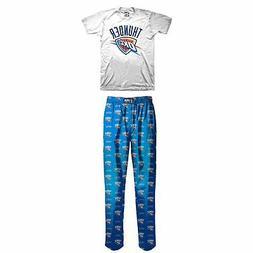 NWT Boys SMALL  NBA OKLAHOMA CITY THUNDER Pajama Lounge Wear