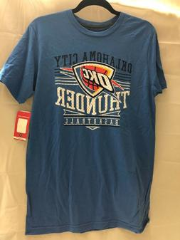 NWT NBA Oklahoma City Thunder basketball Men's t-shirt