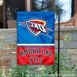 OK City Thunder Garden Flag and Yard Banner