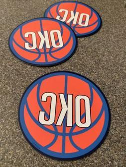 Oklahoma City basketball 3 inch circle car, truck, fridge ma
