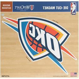 "Oklahoma City Thunder 12"" x 12"" Car Magnet"