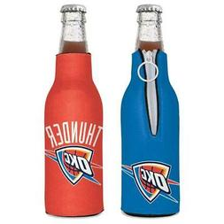 Oklahoma City Thunder 12oz Two Sided Bottle Cooler  Can Hold