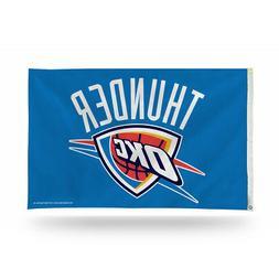 Oklahoma City Thunder 3X5 Indoor Outdoor Banner Flag w/gromm