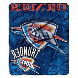"Oklahoma City Thunder 50"" by 60"" Plush Raschel Throw Blanket"