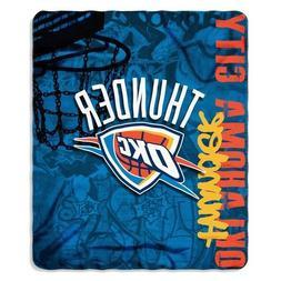 "Oklahoma City Thunder 50"" x 60"" Painted Fleece Throw Blanket"