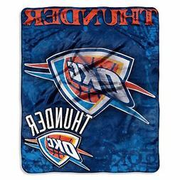 Oklahoma City Thunder 50x60 NBA Drop-Down Royal Plush Rasche
