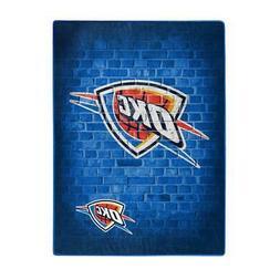 Oklahoma City Thunder 60x80 Street Design Royal Plush Rasche
