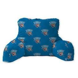 oklahoma city thunder backrest pillow repeat logo