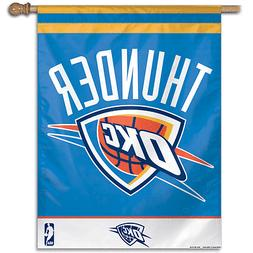 Oklahoma City Thunder Banner Flag 27 x 37
