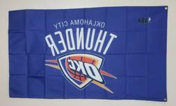 Oklahoma City Thunder OKC  Banner 3x5 Ft Flag Man Cave Decor