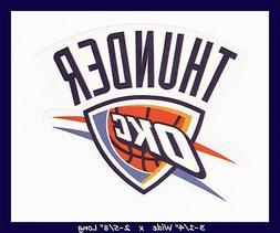 oklahoma city thunder basketball nba decal sticker