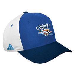 Oklahoma City Thunder Cap Adjustable Baseball Adidas Hat New