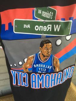 Oklahoma City Thunder Chesapeake Arena Center T-Shirt NBA La