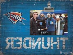 Oklahoma City Thunder Clip Picture Frame  NBA Photo Plaque S