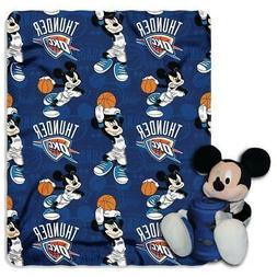 Oklahoma City Thunder Disney Hugger Blanket  NBA Fleece Thro