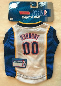 Oklahoma City Thunder Dog Jersey - XS - Official NBA Basketb