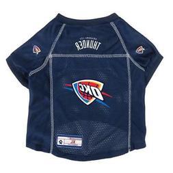 oklahoma city thunder extra small pet jersey