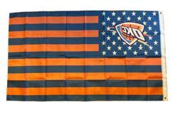 Oklahoma City Thunder flag stars and stripes 3X5FT banner US