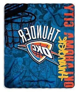 Oklahoma City Thunder Graffiti Lightweight 50x60 Fleece Thro