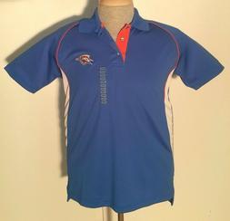 Oklahoma City Thunder Logo NBA Store Short Sleeve Polo Shirt