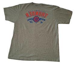 Adidas Oklahoma City Thunder Logo T-Shirt Gray Go-To-Tee NBA