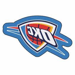 Oklahoma City Thunder Mascot Decorative Logo Cut Area Rug Fl