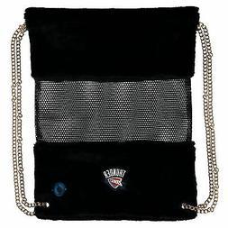 Oklahoma City Thunder Mesh Gold Chain Drawstring Bag