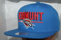 Oklahoma City Thunder Mitchell & Ness NBA Straight Shot Snap