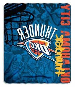 "Oklahoma City Thunder NBA Northwest 50""x60"" Hard Knocks Flee"
