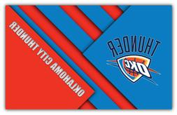 Oklahoma City Thunder NBA Basketball Car Bumper Sticker Deca
