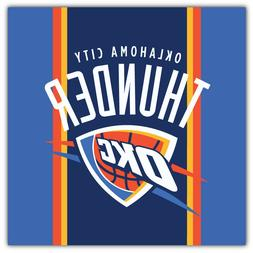 Oklahoma City Thunder  NBA Basketball Car Bumper Sticker Dec