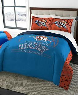 Oklahoma City Thunder NBA Basketball Full Queen Comforter Pi