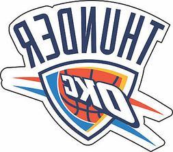 Oklahoma City Thunder NBA Basketball Bumper sticker wall, vi