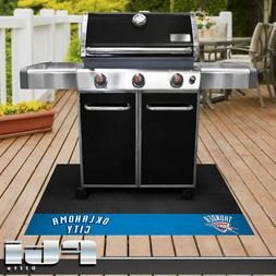 Oklahoma City Thunder NBA Basketball Vinyl BBQ Outdoor Grill