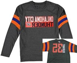 Oklahoma City Thunder NBA Boys Kevin Durant #35 Long Sleeve