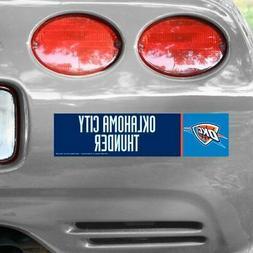Oklahoma City Thunder WinCraft NBA Bumper Sticker