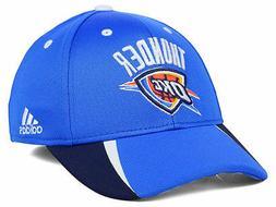 Oklahoma City Thunder adidas NBA Fastbreak Men's Fitted Cap