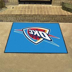 """Oklahoma City Thunder 34""""x43"""" NBA Man Cave All-Star Area Rug"""