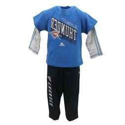 Oklahoma City Thunder NBA Adidas Toddler Size Long Sleeve Sh