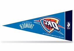 "Oklahoma City Thunder NBAS Mini Pennant 9""x4"",New, Felt, Mad"