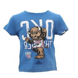 Oklahoma City Thunder Official NBA Adidas Apparel Baby Infan